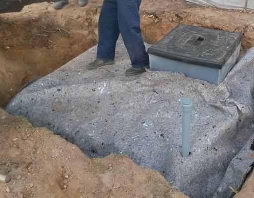 Бесшовный пластиковый погреб (кессон) ТИНГАРД большой 2500х1900х2600
