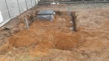 Бесшовный пластиковый погреб (кессон) ТИНГАРД малый 1500х1500х1900