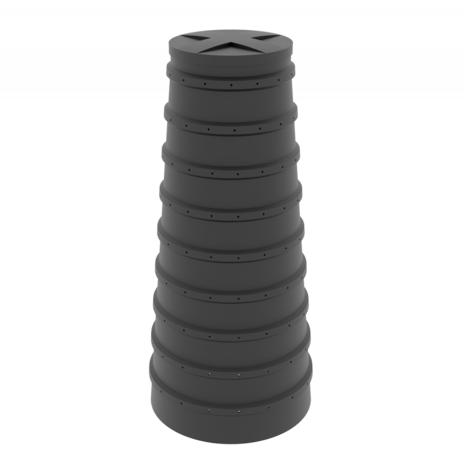 Конусный дренажный колодец 2м